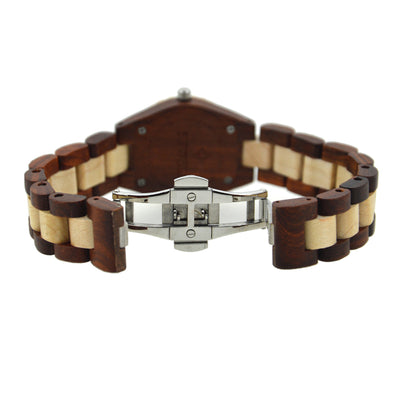 Handmade Women's Wood Watch Clasp