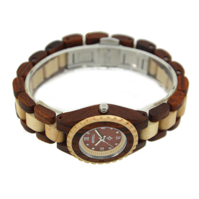 Handmade Women's Wood Watch Overview