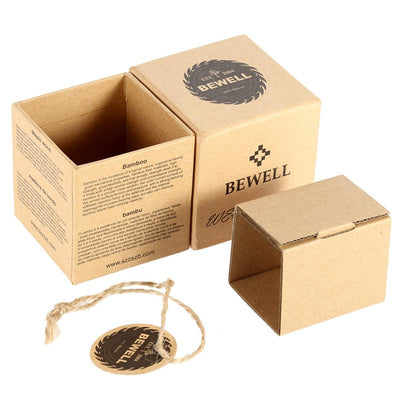 Handmade Women's Wood Watch Packaging