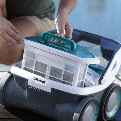 iRobot Mirra 530 Pool Cleaning Robot Large Cleaning Box