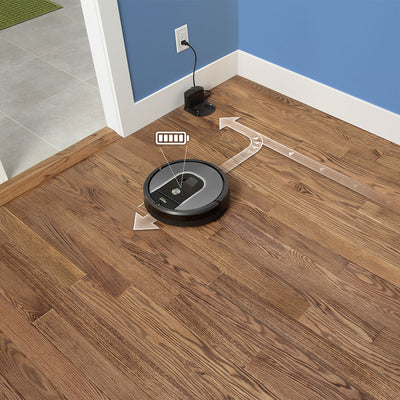 Irobot Roomba 960 Automatically Recharges And Resumes