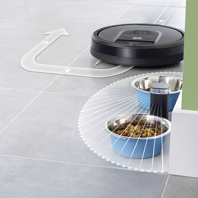 Irobot Roomba 960 Avoids Objects