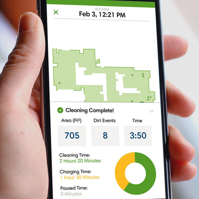 Irobot Roomba 960 Cleaning Reports