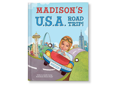 Photo Of Your Child In A Childrens Story Book Road Trip