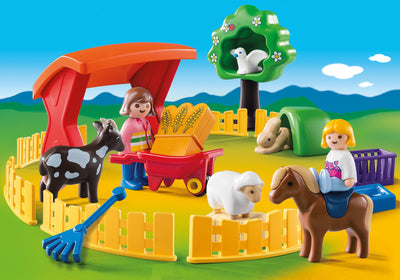 Playmobil Age 1 to 3 Petting Zoo 6963 Photo