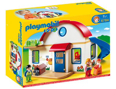 Playmobil Ages 1.2.3 Suburban Home 6784 Product_Box