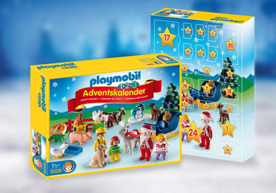Playmobil Christmas And Advent Calendar Christmas On The Farm 9009