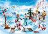Playmobil Christmas And Advent Calendar Royal Ice Skating Trip 9008