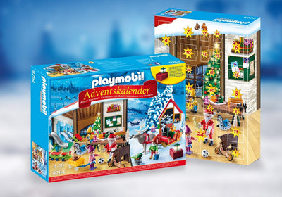 Playmobil Christmas And Advent Calendar Santa's Workshop 9264