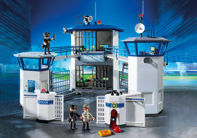 Playmobil City Action Police Headquarters Prison 9131