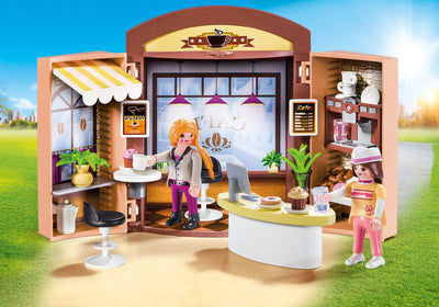 Playmobil City Life Coffee Shop Play 9109