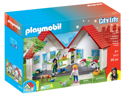 Playmobil City Life Take Along Pet Store 5672