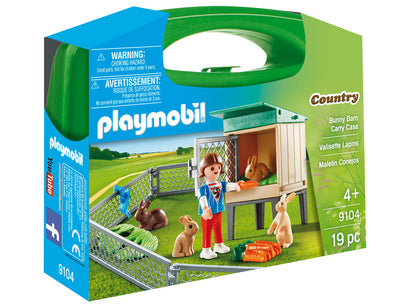 Playmobil Country Bunny Barn Carry Case 9104