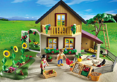 Playmobil Country Farm House With Market 5120