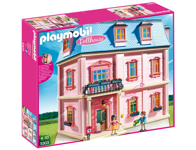 Playmobil Dollhouse Delux Dollhouse 5303 Product Box