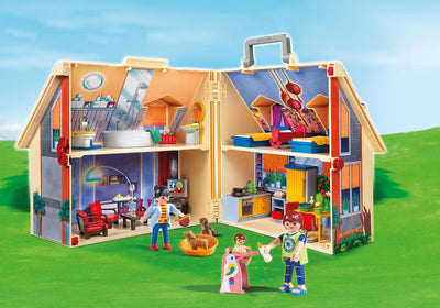 Playmobil Dollhouse Take Along Doll House 5167