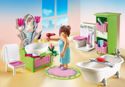 Playmobil Dollhouse Vintage Bathroom 5307