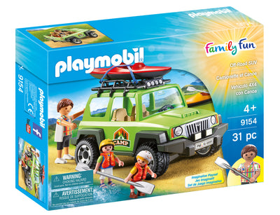 Playmobil Family Fun Off Road SUV 9154 Product Box