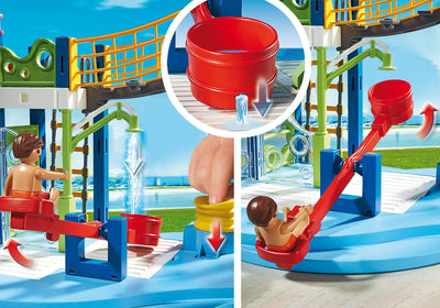 Playmobil Family Fun Water Park Play Area 6670 Photo