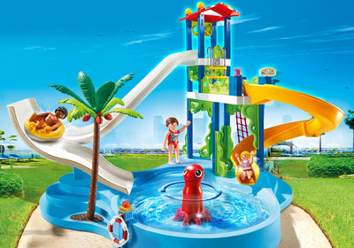 Playmobil Family Fun Water Park With Slides 6669 Photo