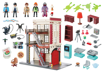 Playmobil Ghostbusters Firehouse 9219 Product