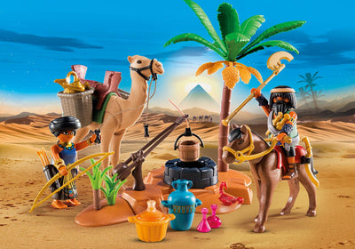 Playmobil History Tomb Raiders Camp 9166