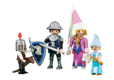 Playmobil Knights Medieval Family 6324