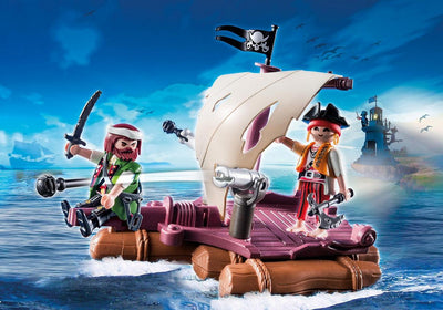 Playmobil Pirate Raft 6682