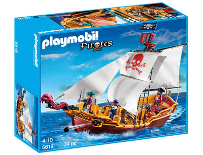 Playmobil Pirates Red Serpent Pirate Ship 5618