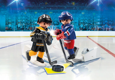 Playmobil Sports And Action Blister Boston Bruins Vs New York Rangers 9012