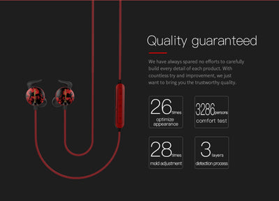 Sweat Proof Sports Earbuds Bluedio AI Sports Quality Guaranteed