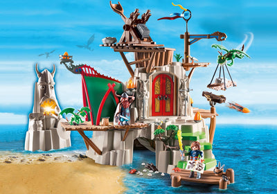 Toys playmobil Dragons City of Berk