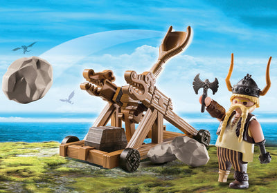 Toys playmobil Dragons Gobber with Catapult