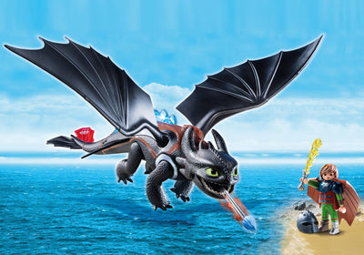 Toys playmobil Dragons Hiccup & Toothless