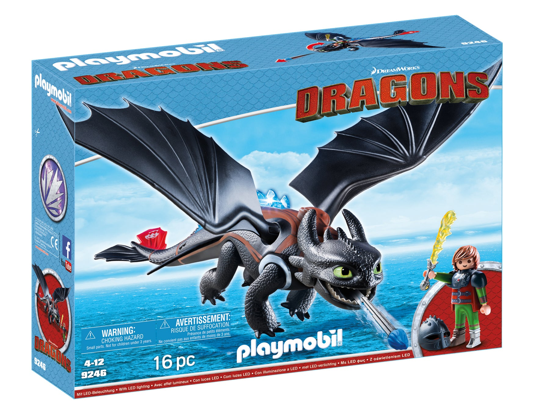 DreamWorks Dragons themed Children\'s Toys by playmobil - Find Unique ...