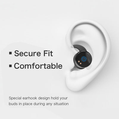 Truly Wireless Earbuds Wonstart W302 Secure Fit