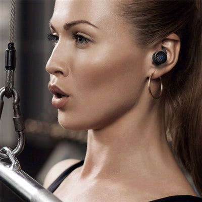 Truly Wireless Earbuds Wonstart W302 Woman Waring