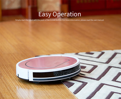 Wet Mopping Robot Vacuum Cleaner iLIFE V7s Pro Easy Operation