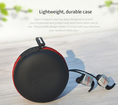 Wireless Sports Earbuds Bluedio Te Carrying Case
