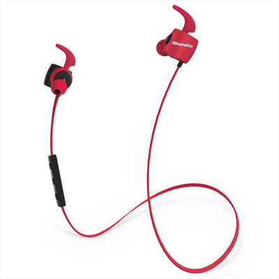 Wireless Sports Earbuds Bluedio Te Red