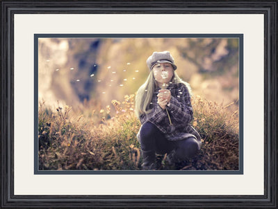 Your Photo In A Custom Frame Black