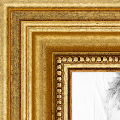 Your Photo In A Custom Frame Gold Detail