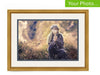 Your Photo In A Custom Frame Gold