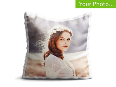 Your Photo On A Cushion Cover