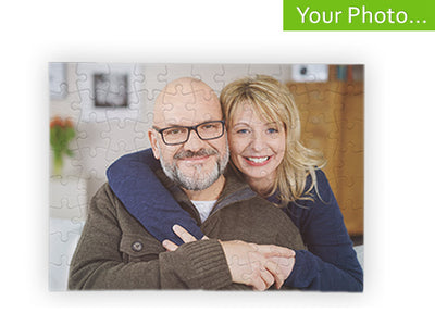 Your Photo On A Custom Photo Puzzle