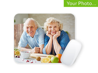 Your Photo On Custom Photo Mouse-pad