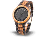 Zebra Wood Watch For Men Product Shot