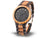 Zebra Wood Watch D30