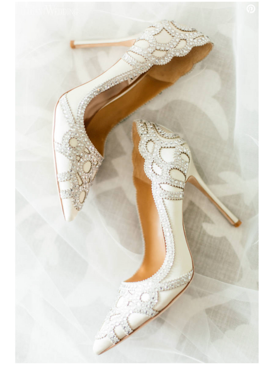 elegantwedding.ca - wedding-shoes-bride