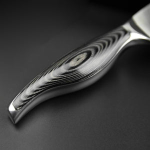 handle of Damascus Chef Knife